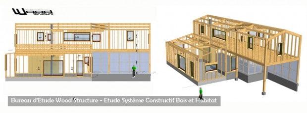 wood structure bureau etude systeme constructif bois et habitat sarl merlot