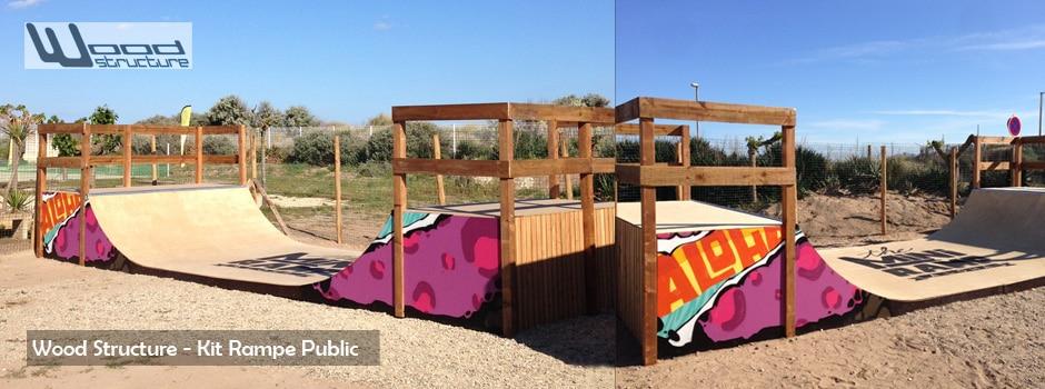 module et rampe de skate wood structure skatepark. Black Bedroom Furniture Sets. Home Design Ideas
