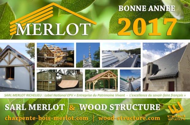 Entreprise Merlot - Sarl Merlot Richelieu 37- Charpente - Couverture Zinguerie depuis 1989