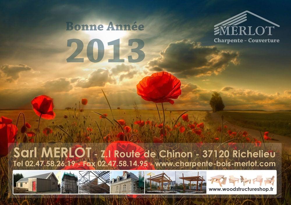 Voeux 2013 - Sarl Merlot