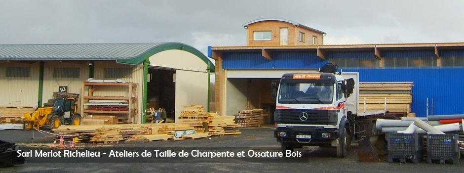 Werkstatt Holz Strukturen, Dachdeckerei und Zink-Arbeiten - Sarl Merlot Richelieu