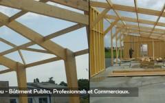 Houtskeletbouw - Sarl Merlot - Richelieu - France