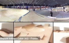 Skatepark Indoor de Calais - Wood Structure Skatepark