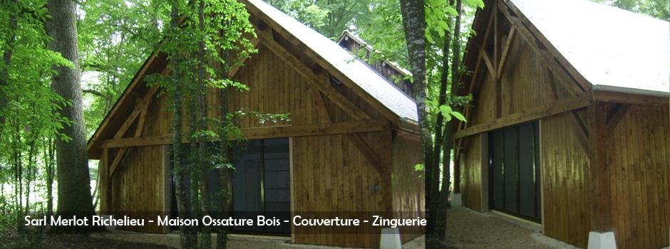 Maison Bois - Charpente Bois Merlot Richelieu