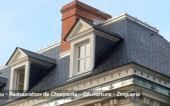 Restoration of Roofing - Sarl Merlot - Richelieu - France