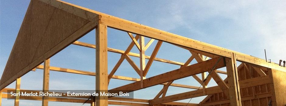 Extension de Maison - Sarl Merlot Richelieu