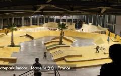 Skatepark Indoor de Marseille - Sarl MERLOT & WOOD STRUCTURE - Modul Straße und Rampe Skatepark Öffentliche Indoor - Skatepark Couvert