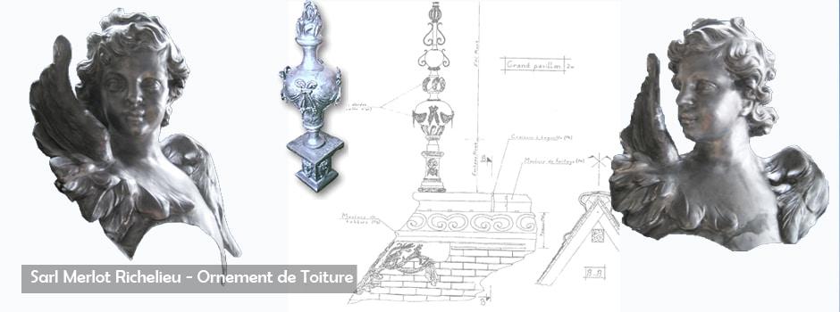 Ornement de Toiture - Sarl Merlot Richelieu
