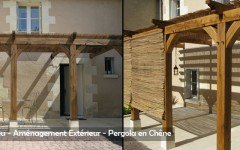 Outdoor Woodworking - Pergola - Sarl Merlot Richelieu - Loire Valley - France