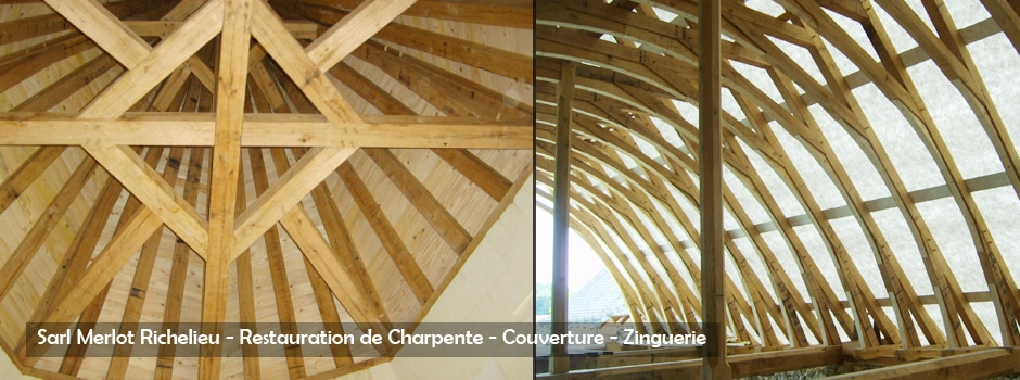 Restauration de Charpente - Sarl Merlot Richelieu