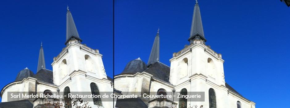 Sarl Merlot Richelieu - Restauration de Charpente - Couverture - Zinguerie