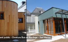 Huis uitbreiding - openbaar gebouw hout - Sarl Merlot Richelieu