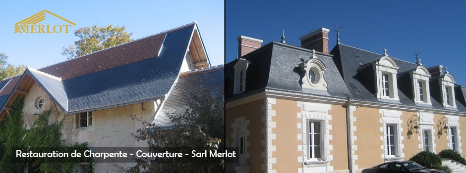 restauration charpente couverture - sarl merlot