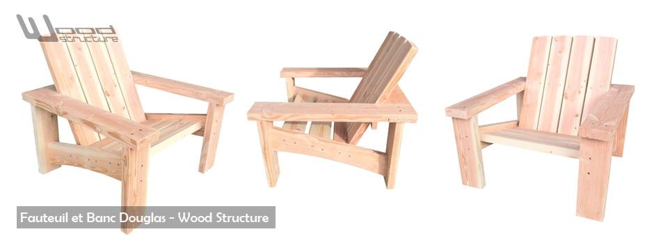 Mobilier Exterieur Bois - Wood Structure -