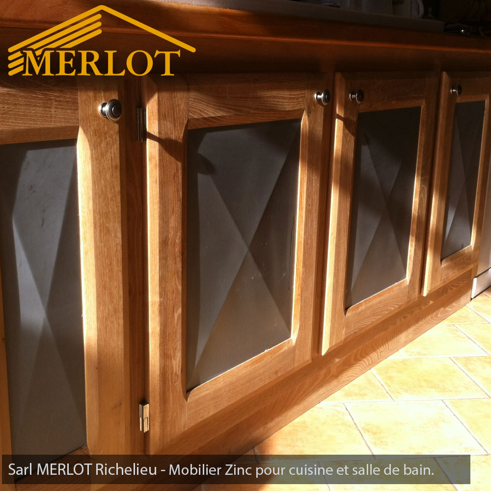 mobilier zinc sur mesure int rieur ou ext rieur sarl merlot richelieu 37. Black Bedroom Furniture Sets. Home Design Ideas