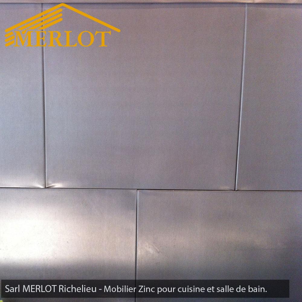 mobilier zinc sur-mesure - intérieur ou extérieur - sarl merlot